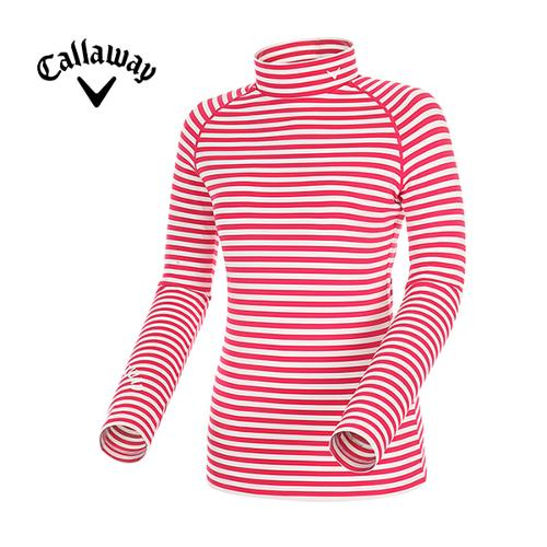 [캘러웨이]여성 스트라이프 래글런 티셔츠 CWTHD7109-403