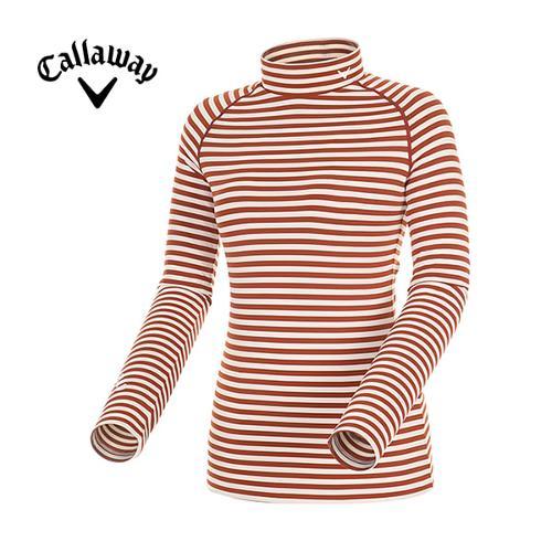 [캘러웨이]여성 스트라이프 래글런 티셔츠 CWTHD7109-506
