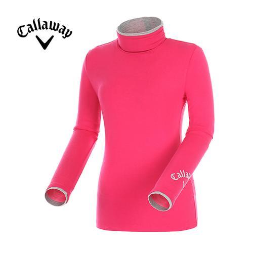 [캘러웨이]여성 하프넥 스트레치 티셔츠 CWTHD7117-403