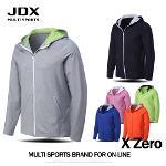 JDX 국내생산 남녀공용 X3 멀티스포츠 후드집업