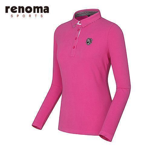 [레노마골프]여성 솔리드 제에리 티셔츠 RATS74561-PK