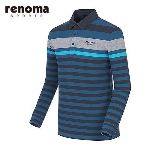 [레노마골프]남성 라인 테크 배색 티셔츠 RATS24561-DT