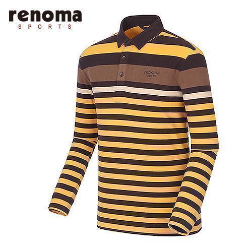 [레노마골프]남성 라인 테크 배색 티셔츠 RATS24561-MS