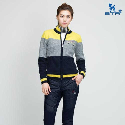 [BTR] 절개라인 슬림 안감기모 패딩팬츠 바비(여) BNP9526W