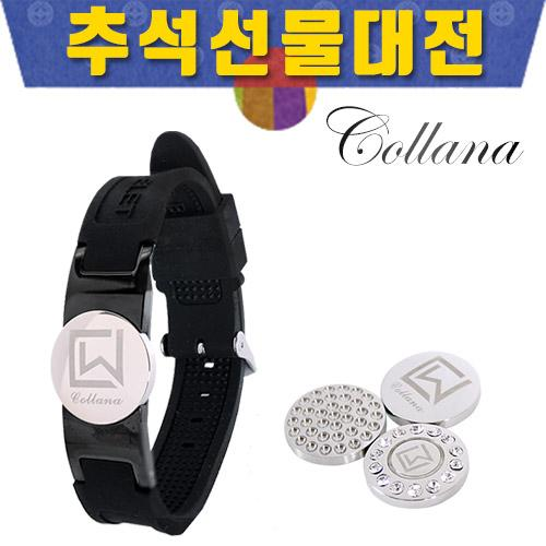 [추석선물대전]볼마커 겸용 시계형 게르마늄 팔찌/골프팔찌