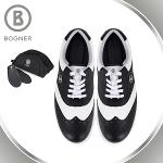 보그너 BOGNER 남성 최고급 클래식 투톤 배색포인트 스파이크 골프화 - BN-01-173-118-01