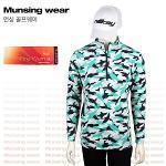 [일본수입정품] 먼싱웨어 SG1358 EM 기모 남성티셔츠