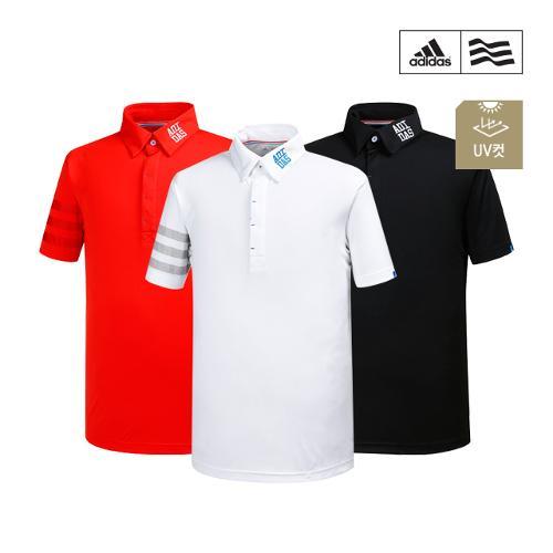[아디다스골프] 남성 프린팅 폴로 티셔츠 3종 택1_GA