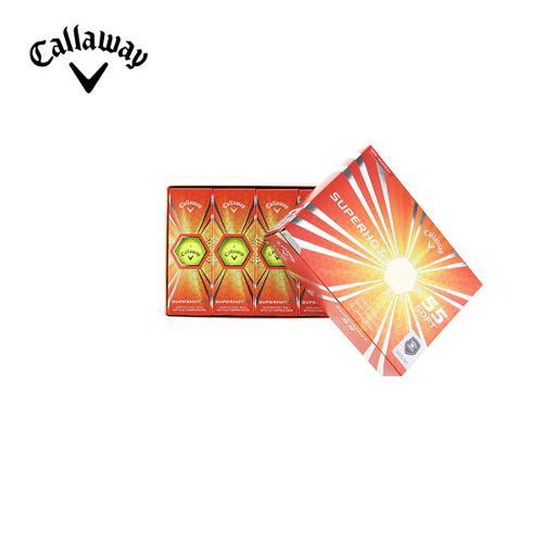 [캘러웨이]CGK 공용 슈퍼핫 55 골프볼 CUGLF9003-203