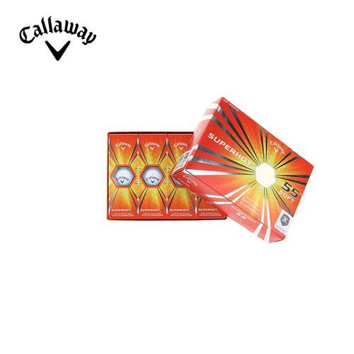 [캘러웨이]CGK 공용 슈퍼핫 55 골프볼 CUGLF9003-100
