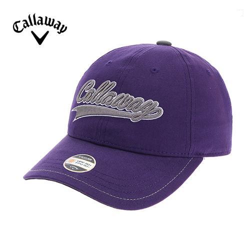 [캘러웨이]CGK 여성 스티치 포인트 로고 캡 모자 CWGCF9056-604