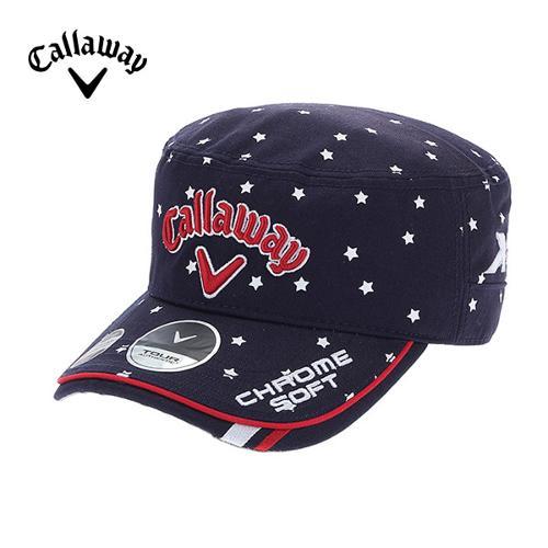 [캘러웨이]CGK 남성 별 프린트 밀리터리 캡 모자 CMGCF9006-913