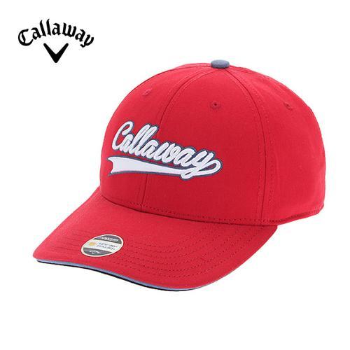 [캘러웨이]CGK 남성 팁 배색 로고 포인트 캡 모자 CMGCF9011-500