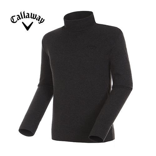 [캘러웨이]17FW 남성 믹스 자수 로고 폴라 스웨터 CMSHG3272-192