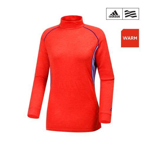 [아디다스골프] 여성 배색 보온 티셔츠 N56288_GA