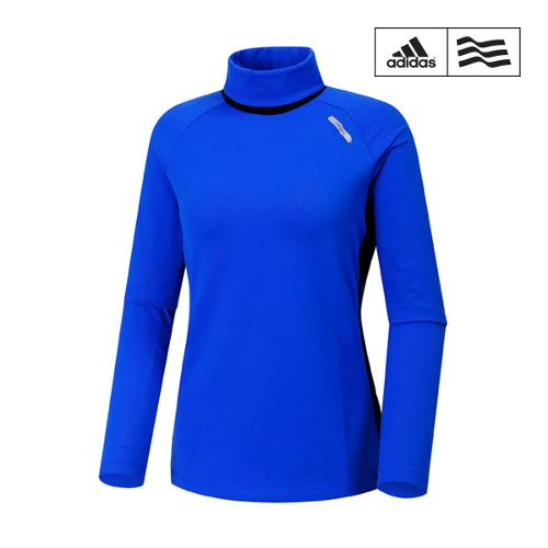 [아디다스골프] 여성 배색 터틀넥 티셔츠 Z95493_GA