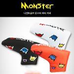 [니켄트 골프 정품]Monster(몬스터) 퍼터 헤드카바