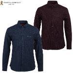 남성 코튼 프린트 셔츠(R0W8302)