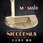 [프리미엄급]日本무사시 634 NICODEMUS 니고데모 골드헤드 프리미엄 여성용 퍼터