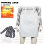 [일본수입정품] 먼싱웨어 SL7083-GY 허리밴딩 여성 골프스커트