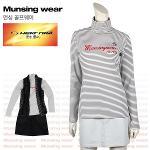 [일본수입정품] 먼싱웨어 SL1287-GY 반목 여성티셔츠
