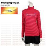 [일본수입정품] 먼싱웨어 SL1287-PK 반목 여성티셔츠