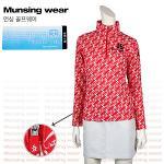 [일본수입정품] 먼싱웨어 SL1285-RD 집업 여성티셔츠