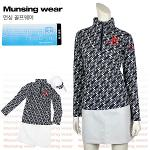 [일본수입정품] 먼싱웨어 SL1285-NV 집업 여성티셔츠