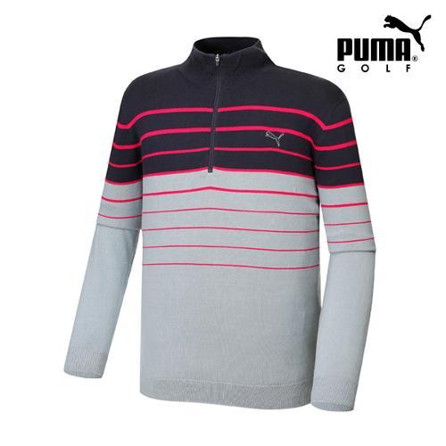 [푸마골프]  남성 반짚업 스웨터 57217303_GA