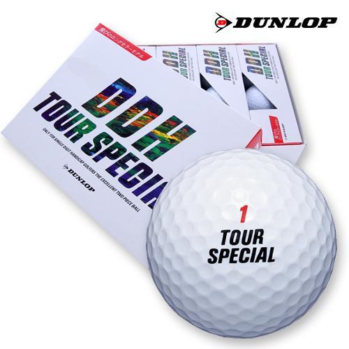 [블랙골프데이] 던롭 정품 DDH TOUR SPECIAL 투어스페셜 골프공(12알/2피스)