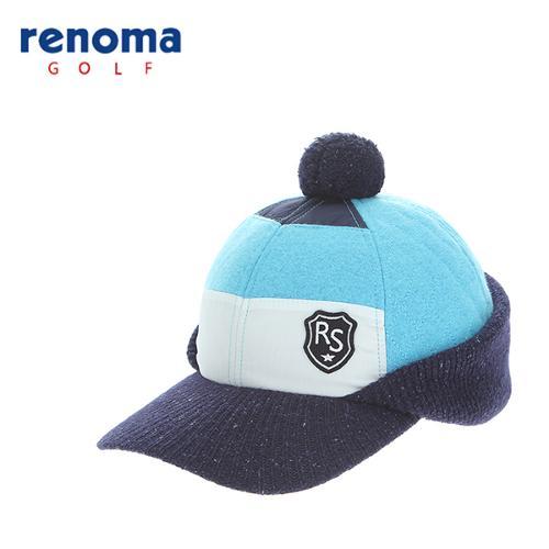 [레노마골프]여성 니트 믹스 퀼팅 캡 모자 RCCP84561-LB
