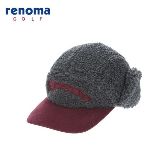 [레노마골프]여성 폴라플리스 캠프캡 모자 RCCP83561-CG