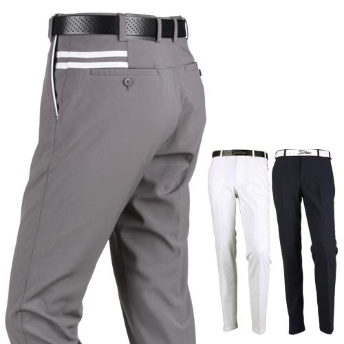럭스골프 투어핏 허리자동조절 기모 골프팬츠 MS7W514