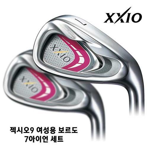 [블랙골프데이] *구매제한수량 상품*던롭코리아 정품 XXIO9 젝시오9 여성용 카본 7아이언 컬러커스텀