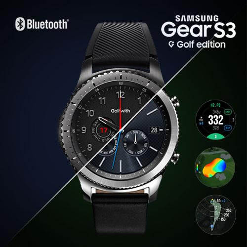 [삼성]Golfwith X Gear S3 frontier 삼성기어 블루투스 S3 골프에디션+7만원 상당의 사은품증정
