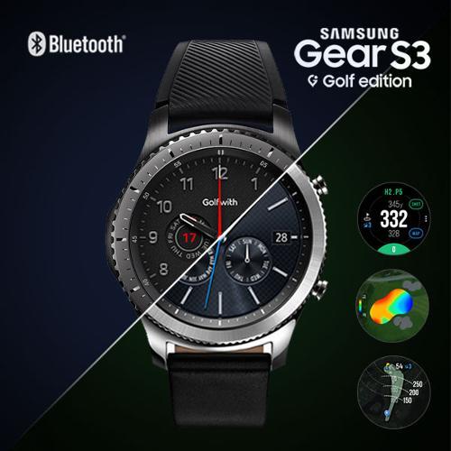 [골프공 증정]Golfwith X Gear S3 삼성기어 블루투스 S3 골프에디션 골프거리측정기