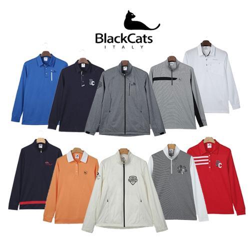 [블랙캣츠] 17 SS 신제품 남/여 티셔츠/바람막이 골프웨어_GA