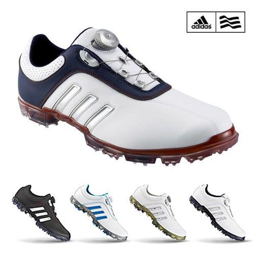 [주말단3일,앵콜!][블랙골프데이]아디다스골프 2016 퓨어 메탈 보아 Adidas Pure Metal Boa Q44616 남성 골프화