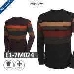 [PARK TOWN] 파크타운 사색 캐쥬얼 니트셔츠 Model No_E1-7M024