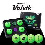 볼빅 VIVID XT-마블 헐크(4구+볼마커 set)