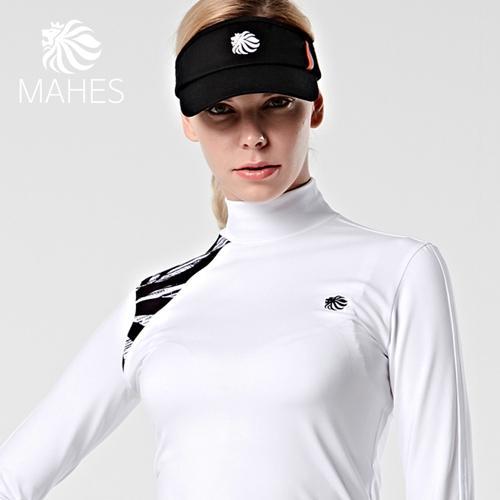 마헤스 오스틴 라이언 여성 웜티셔츠 GP60326