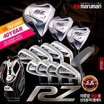 [마루망/正品]MARUMAN NEW 프리미엄 한정판 RZ [日本/名品] 포지드 티타늄 골프채풀세트+캐디백 최고의선택