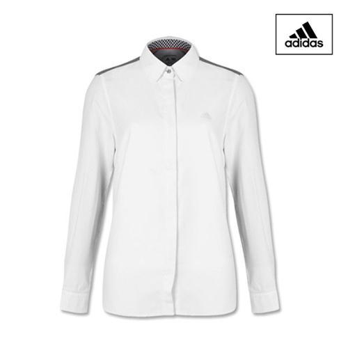아디다스 ADIDAS 여성 긴팔 셔츠 BI7616 골프셔츠 골프웨어 골프의류 골프용품 Golf Woven Shirts