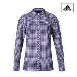 아디다스 ADIDAS 여성 체크 셔츠 BI7615 골프셔츠 골프웨어 골프의류 골프용품 Golf Woven Shirts
