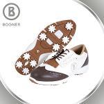 보그너 BOGNER 여성 소가죽 클래식 배색포인트 스파이크 골프화 - BN-01-173-218-02