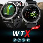 골프버디 WTX 풀컬러 터치스크린 시계형 골프 거리측정기
