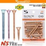 코비스 정품 NEO STEP TEE NS182 / 80mm 12PCS + 35mm 3PCS 국제특허상품