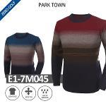 [PARK TOWN] 파크타운 라운드배색 니트 Model No_E1-7M045