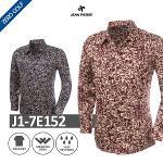 [JEAN PIERRE] 쟌피엘 패턴 긴팔 셔츠 Model No_J1-7E152