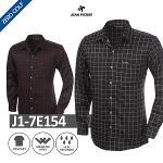 [JEAN PIERRE] 쟌피엘 체크 긴팔 셔츠 Model No_J1-7E154